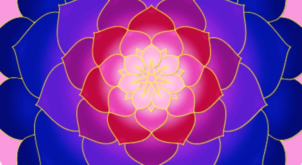 lifeflow meditation flower