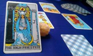 meditation tarot high priestess